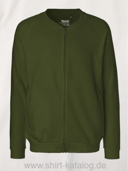 11145-Neutral-Unisex-Jacket-with-Zip-military
