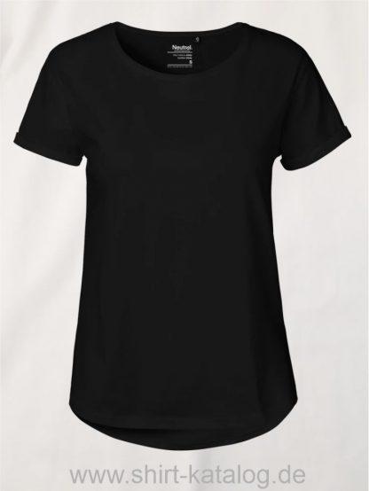 11147-Neutral-Ladies-Roll-Up-Sleeve-T-Shirt-black