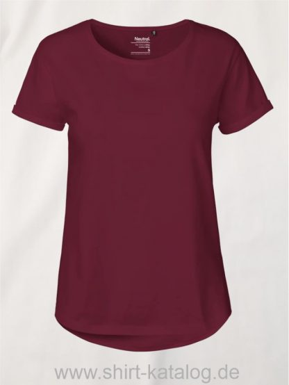 11147-Neutral-Ladies-Roll-Up-Sleeve-T-Shirt-bordeaux