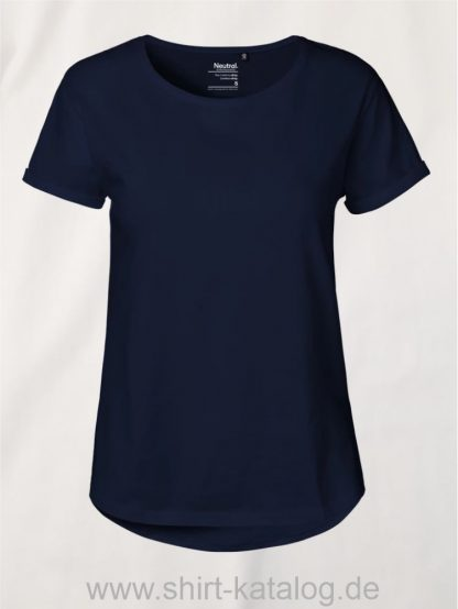11147-Neutral-Ladies-Roll-Up-Sleeve-T-Shirt-navy