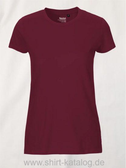11148-Neutral-Ladies-Fit-T-Shirt-bordeaux