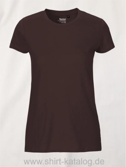 11148-Neutral-Ladies-Fit-T-Shirt-brown