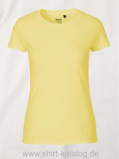 11148-Neutral-Ladies-Fit-T-Shirt-dusty-yellow