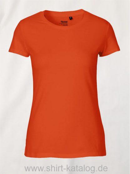 11148-Neutral-Ladies-Fit-T-Shirt-orange