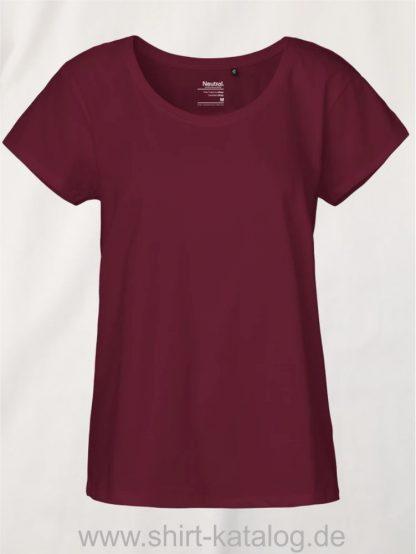 11149-Neutral-Ladies-Loose-Fit-T-Shirt-bordeaux