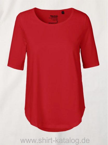 11150-Neutral-Ladies-Half-Sleeve-T-Shirt-red