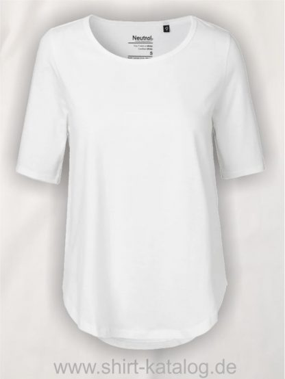 11150-Neutral-Ladies-Half-Sleeve-T-Shirt-white