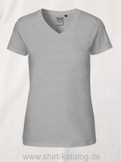 11151-Neutral-Ladies-V-Neck-T-Shirt-sports-grey