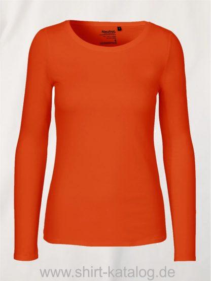 11157-Neutral-Ladies-Long-Sleeve-T-Shirt-orange