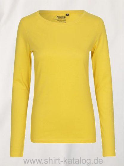 11157-Neutral-Ladies-Long-Sleeve-T-Shirt-yellow