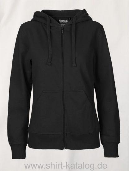 11160-Neutral-Ladies-Zip-Hoodie-black
