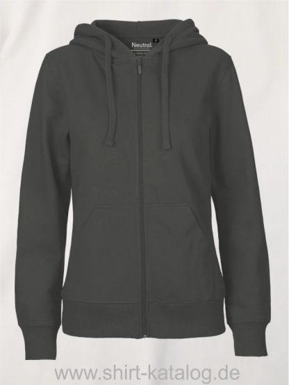 11160-Neutral-Ladies-Zip-Hoodie-charcoal