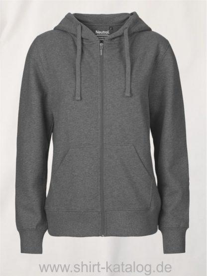 11160-Neutral-Ladies-Zip-Hoodie-dark-heather