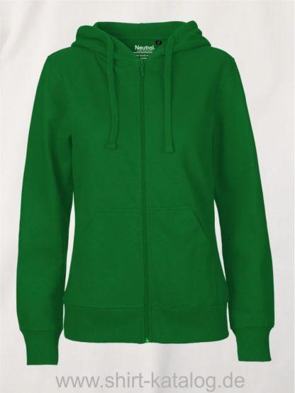 11160-Neutral-Ladies-Zip-Hoodie-green