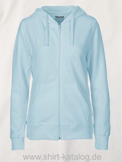 11160-Neutral-Ladies-Zip-Hoodie-light-blue