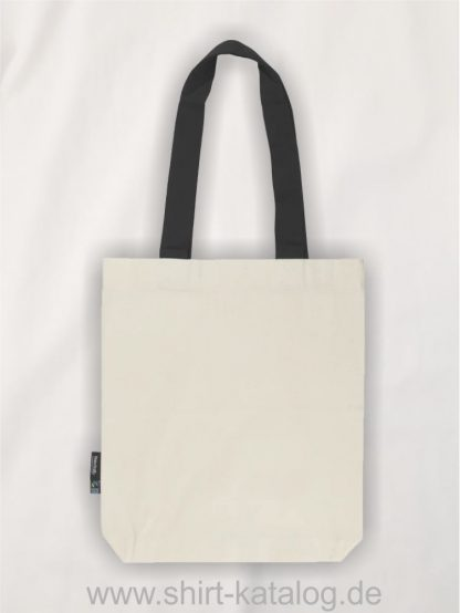 11161-Neutral-Twill-Bag-with-Contrast-Handles-nature-black