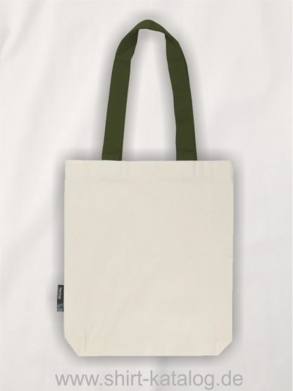 11161-Neutral-Twill-Bag-with-Contrast-Handles-nature-military