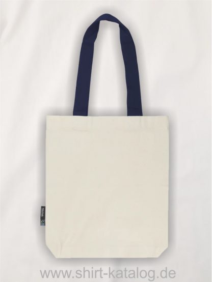 11161-Neutral-Twill-Bag-with-Contrast-Handles-nature-navy