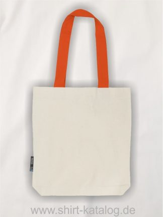 11161-Neutral-Twill-Bag-with-Contrast-Handles-nature-orange