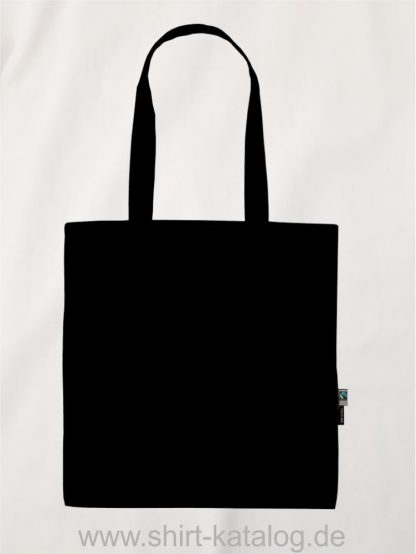 11164-Neutral-Shopping-Bag-with-Long-Handles-black