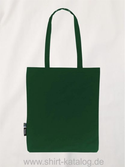 11164-Neutral-Shopping-Bag-with-Long-Handles-bottle-green