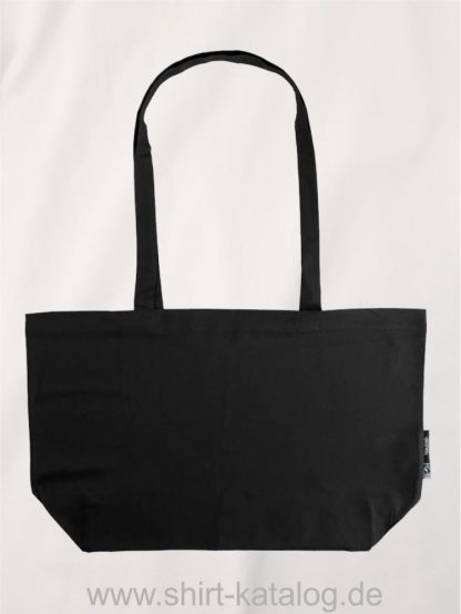 11165-Neutral-Shopping-Bag-with-Gusset-black