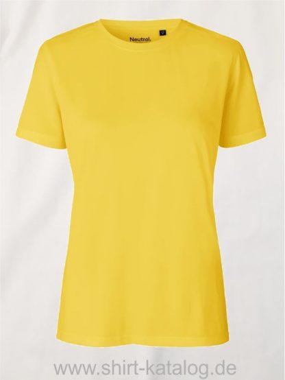 12613-Neutral-Ladies-Performance-T-Shirt-yellow