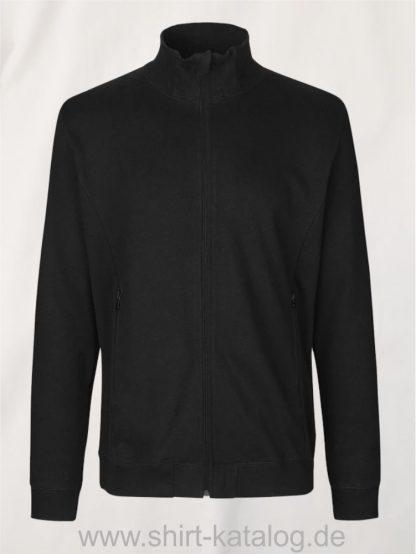 12619-Neutral-Unisex-High-Neck-Jacket-black