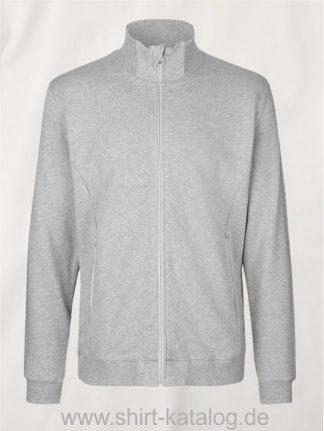 12619-Neutral-Unisex-High-Neck-Jacket-sports-grey