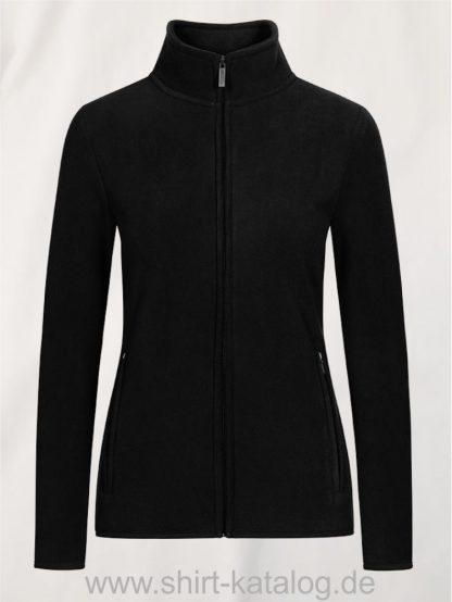 Womens-Double-Fleece-Jacket-black-black