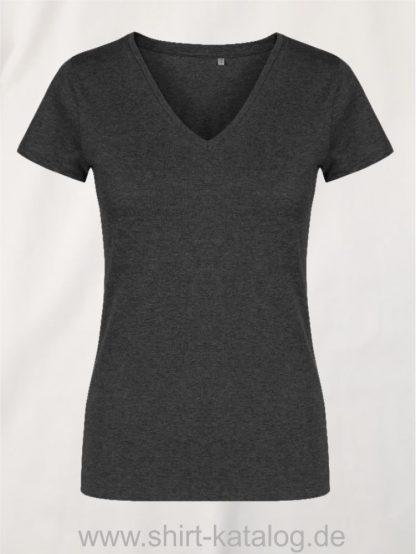 X-O-V-Neck-T-Shirt-Women-heather-black