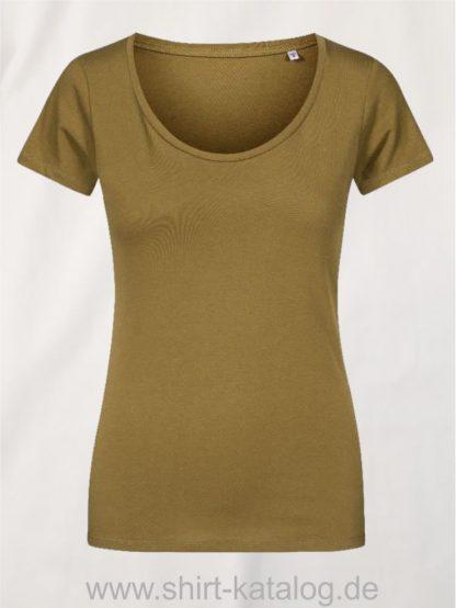 XO-Deep-Scoop-T-Shirt-Women-olive