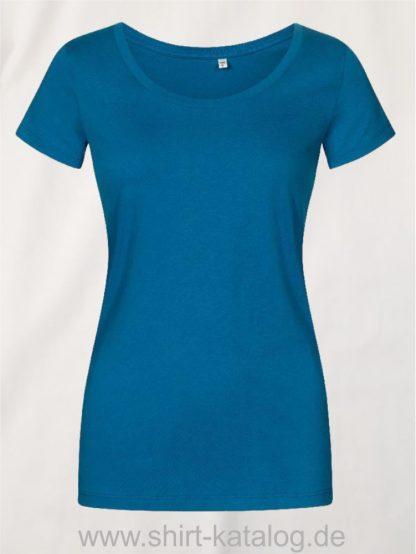 XO-Deep-Scoop-T-Shirt-Women-petrol