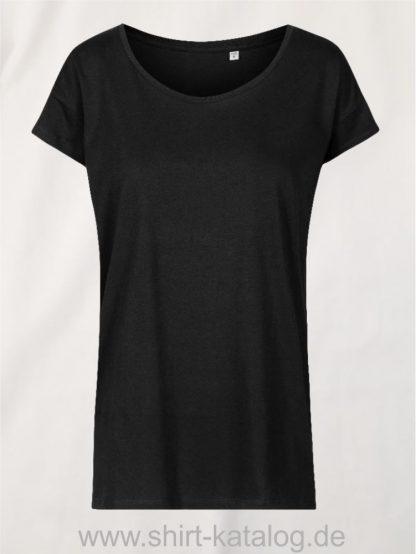 XO-Oversized-T-Shirt-Women-black