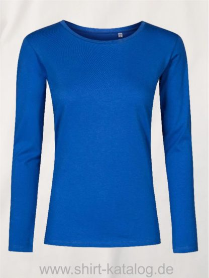 XO-Roundneck-T-LS-Women-azure-blue