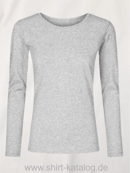 XO-Roundneck-T-LS-Women-heather-grey