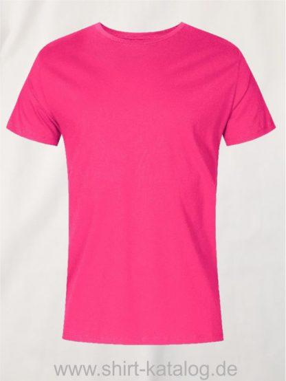 XO-Roundneck-T-Shirt-Men-bright-rose