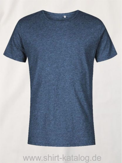 XO-Roundneck-T-Shirt-Men-heather-navy