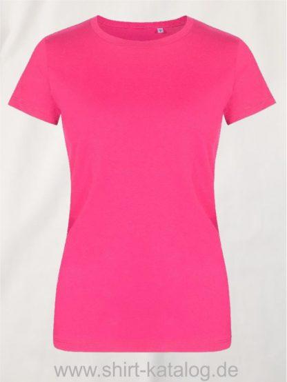 XO-Roundneck-T-Shirt-Women-bright-rose