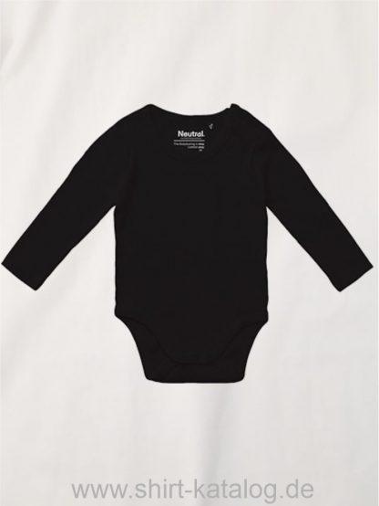 11126-Neutral-Babies-Long-Sleeve-Bodystocking-black