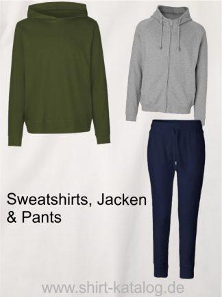 Neutral-Sweatshirt, -pants & -jacken
