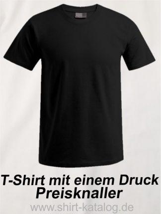 T-Shirt mit einem Druck