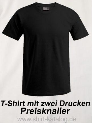 T-Shirt mit zwei Drucken